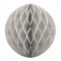 40cm Honeycomb Ball - Grey